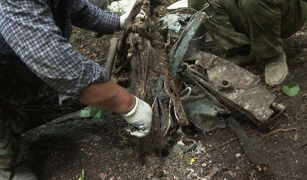 Кабину самолёта времён Великой Отечественной войны нашли вБелгородской области