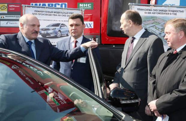 Лукашенко обязал чиновников пересесть на китайские автомобили