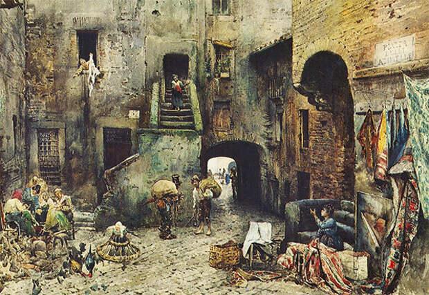 Р. Франц. Римское гетто
