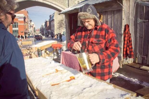 Снежные конфеты из Квебека