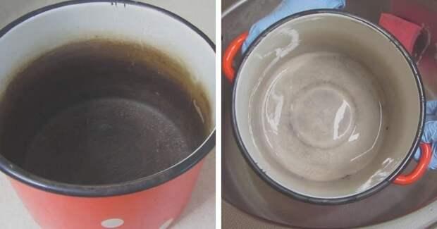 Вновь белоснежная эмалированная посуда: удаляем налёт, желтизну и накипь