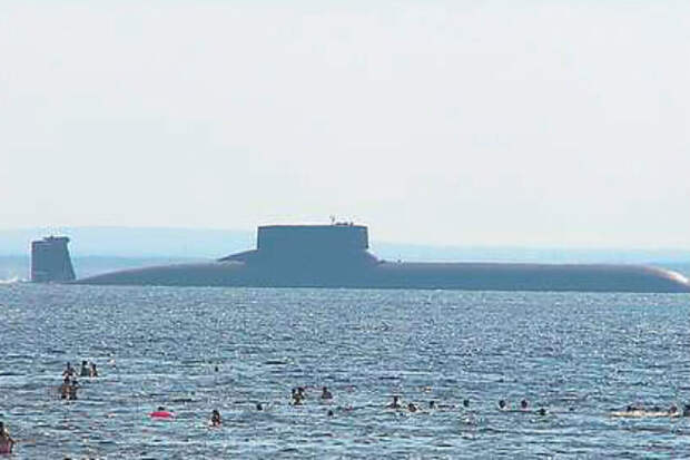 Проект Акула: атомная субмарина размером с авианосец
