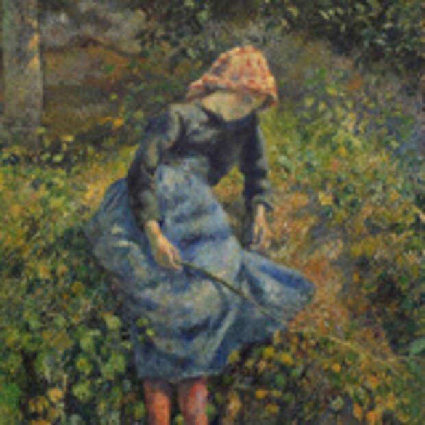 Девочка с прутом