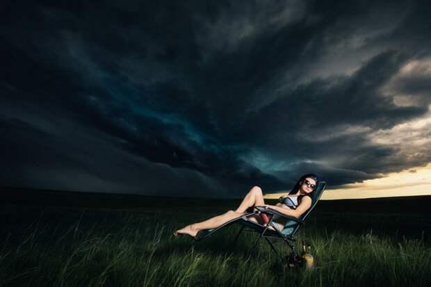 Сюрреалистические портреты охотников за торнадо