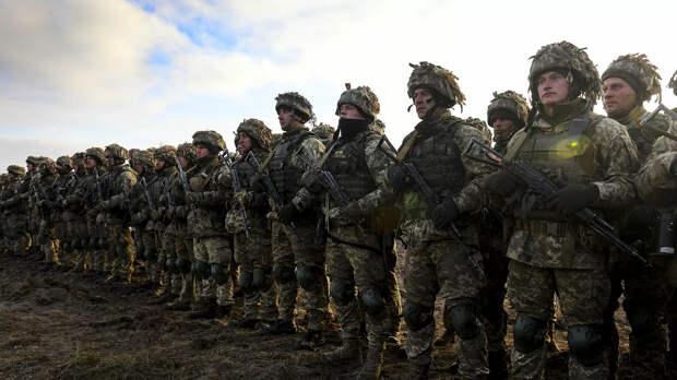 Украинские военнослужащие - РИА Новости, 1920, 06.01.2021
