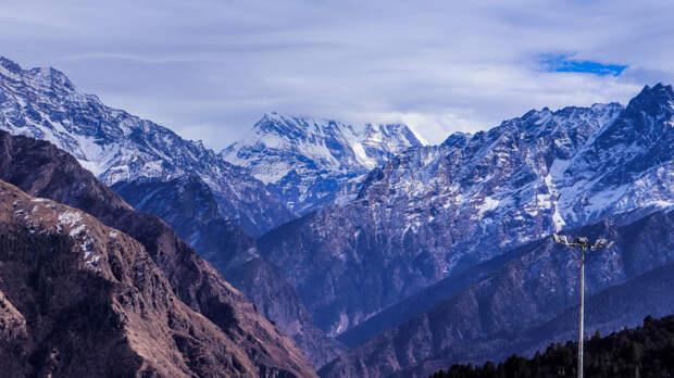 Ледники Гималаев оказались не подвержены воздействию глобального потепления