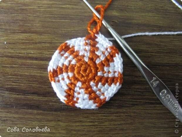 Игрушка Мастер-класс Вязание крючком изготовление Черепашки Пряжа фото 12