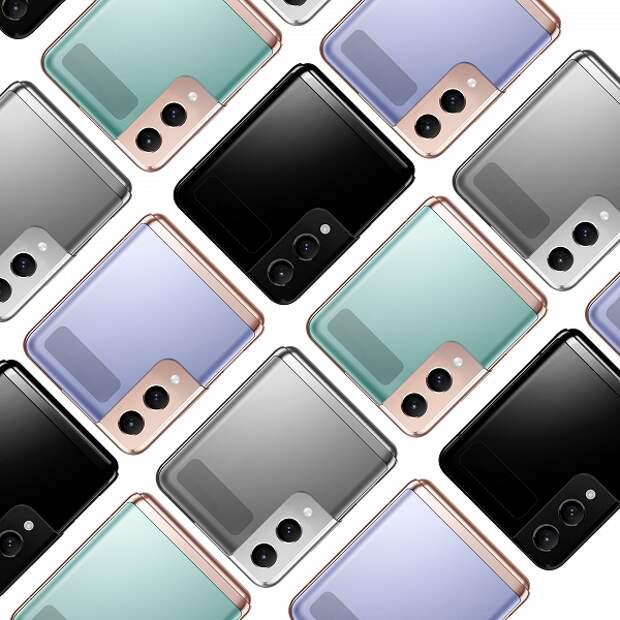 Новое изображение Samsung Galaxy Z Flip3 демонстрирует камеру как у Samsung Galaxy S21, рамку Armor Frame и разные цвета