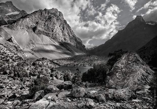 bnwmountains05 Черно белые фотографии гор