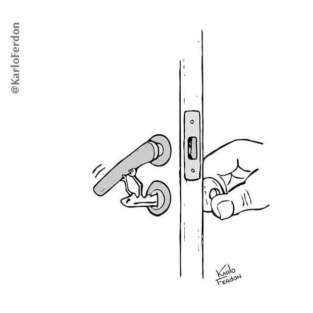10+ смешных иллюстраций, которые позволят взглянуть на мир под новым углом