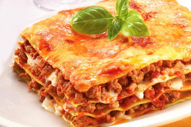 Рецепты блюд лазанья портал по рецептам
