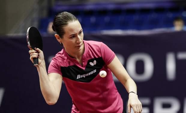 Михайлова проиграла австрийке Лю Цзя в настольном теннисе и покинула турнир