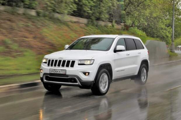 Jeep Grand Cherokee Limited 3.0 (238 л.с.): 2 949 000 руб.