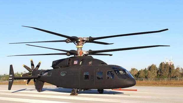 Первые фотографии вертолета Sikorsky-Boeing SB1 Defiant