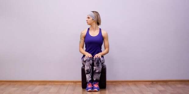 упражнения на гибкость: растяжка шеи