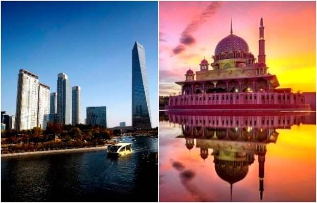 5 городов планеты, которые были построены с нуля за последние четверть века