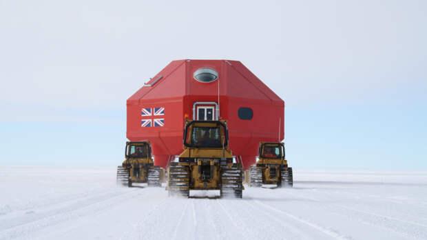 Британская исследовательская станция на Антарктиде