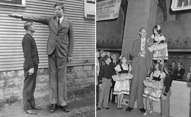 Уникальное цветное видео с самым высоким человеком на Земле