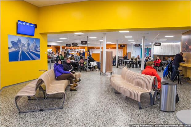 Самые северные аэропорты Финляндии и России. Найди 10 отличий