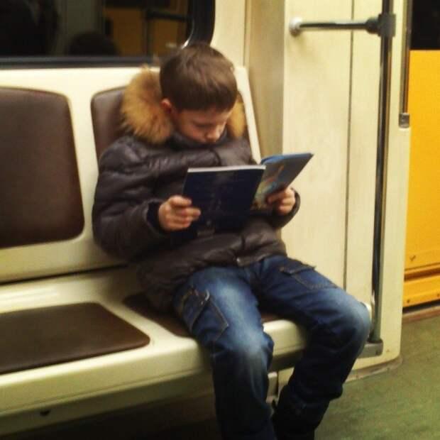 Ещё не все потерянно  книги, метро, чтение
