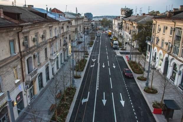 Большую Морскую в Севастополе снова ждет ремонт