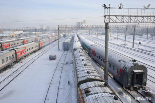 ВЕкатеринбурге поезд насмерть сбил мужчину иранил женщину