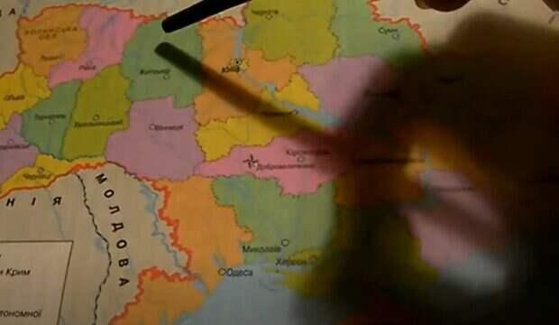 Украину поделят на четверых