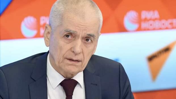 Онищенко оценил ситуацию с пандемией в России