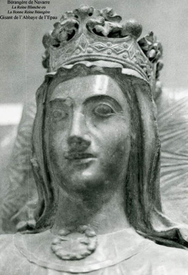 Надгробная статуя Беренгарии Наваррской в аббатстве Лёопу, в Ле-Мане - Беренгария Наваррская