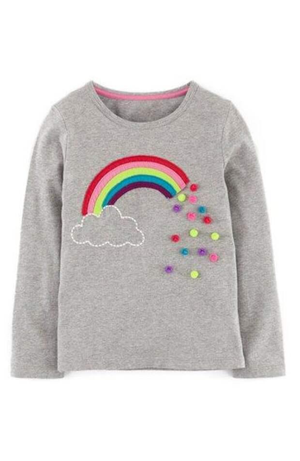Помпончики в детской одежде