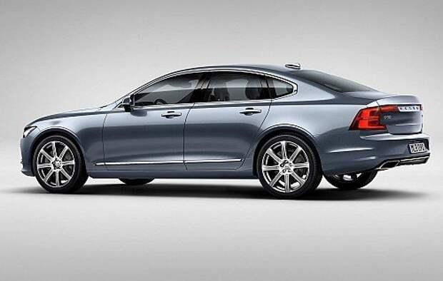 Volvo S90 дорос до масштаба 1:1