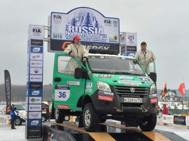 Ралли-рейд «Северный лес-2015»: победители Дакара не взяли «золото»