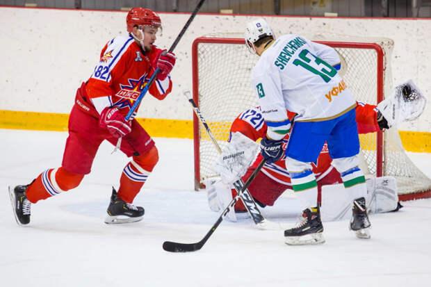 Хоккеисты «Ижстали» проиграли нефтекамскому «Торосу»