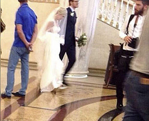 Появились первые фото со свадьбы Пелагеи и Телегина