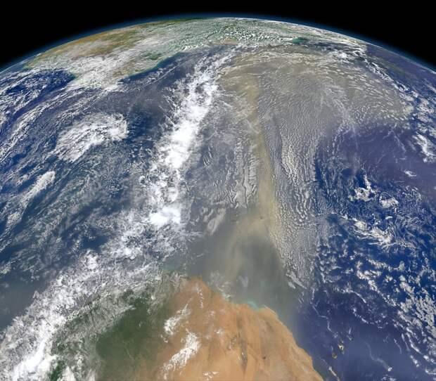 Головоломки Земли с точки зрения космического спутника