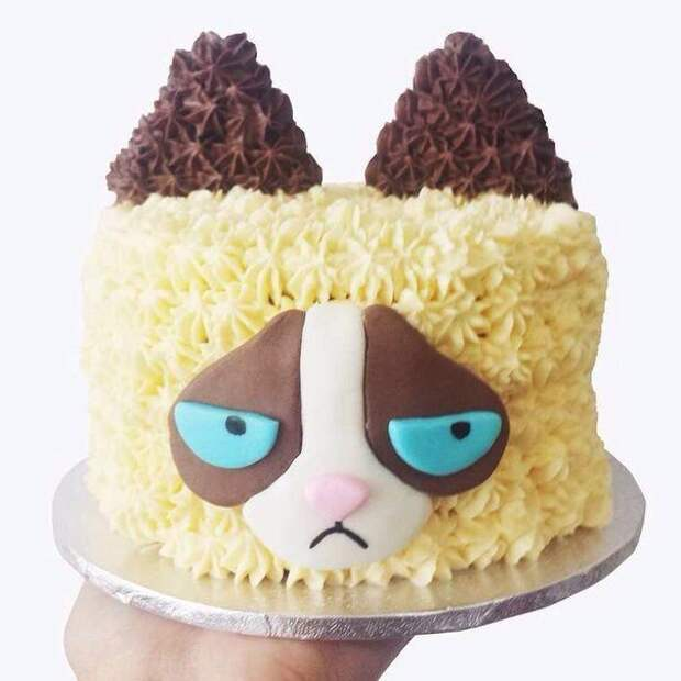 Грустный тортик