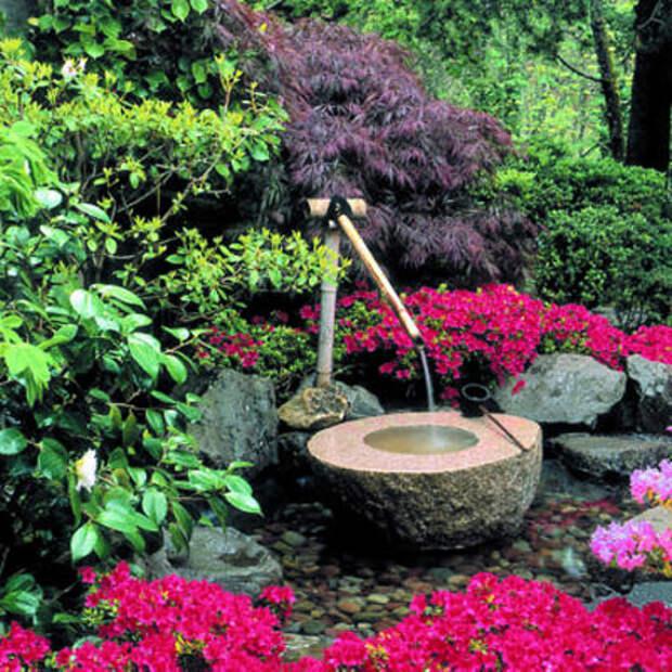 Песня воды и пейзажа: идеи для создания фонтанов в саду своими руками