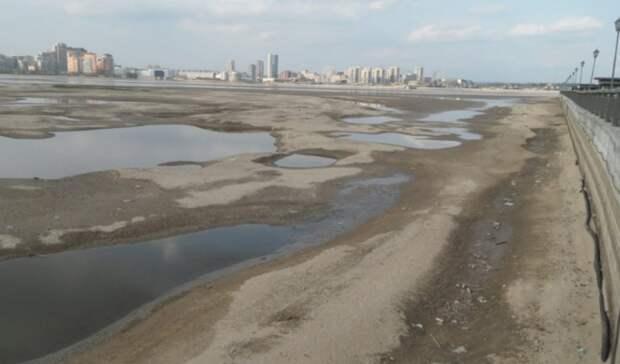 Обмелевшая Волга грозит убить проекты ЛУКОЙЛа вКаспийском море