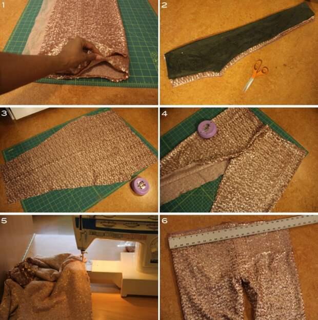 Пошив необычных леггинсов (Diy)