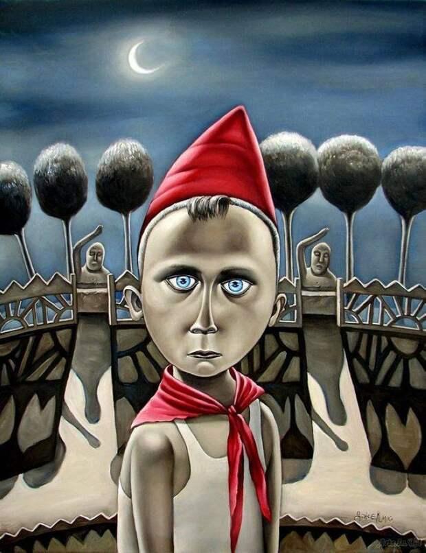 AngelaJerich01 Путешествие в СССР: картины художницы Анжелы Джерих