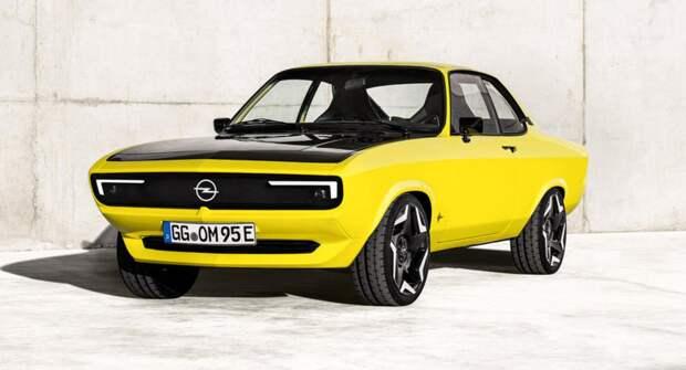 Как в Opel Manta удалось сочетать технологии и ретро стиль