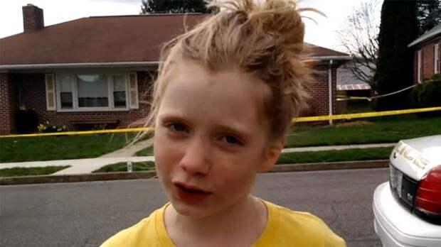 """""""Да, мне 9 лет, но я могу делать репортаж об убийстве!"""""""