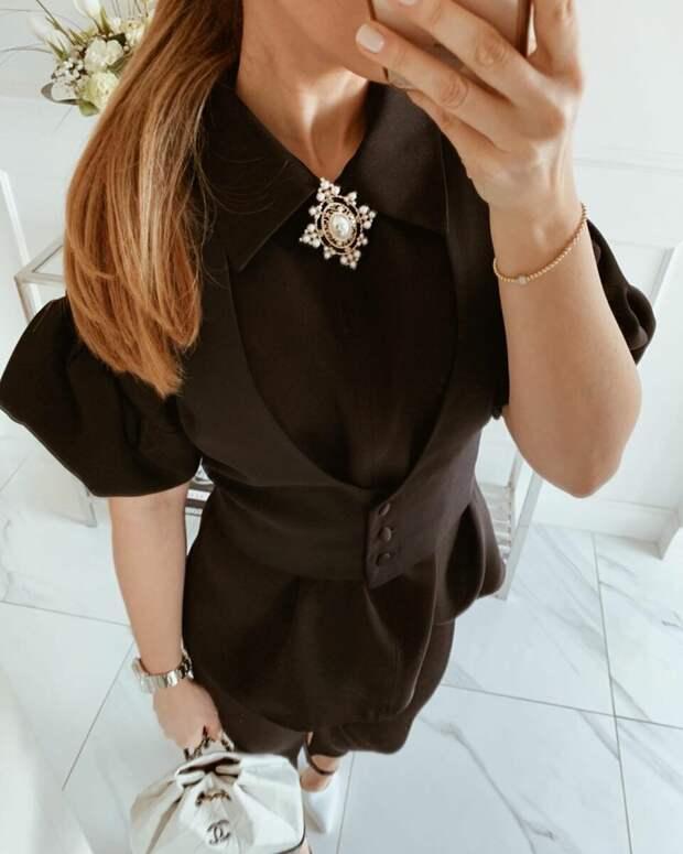 5 основных видов воротников, которые актуальны для модных женских блузок