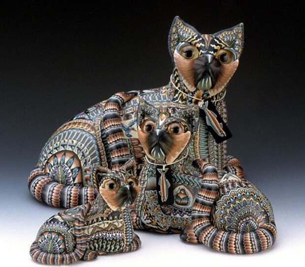 Скульптуры из полимерной глины