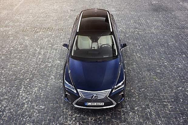 Оператив ЗР: Lexus RX — подросший и окрепший