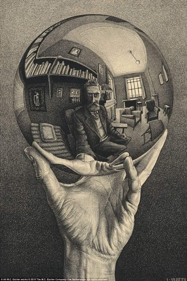 Оптические иллюзии от мастера имп-арта Маурица Эшера