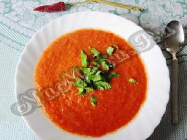 суп гаспачо из помидор
