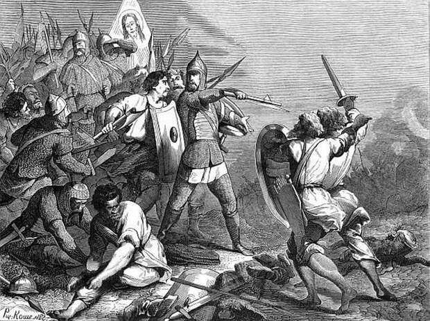 Мстислав Удатный в Липицкой битве