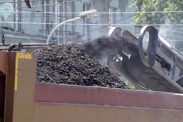Ремонт дорог стал причиной дефицита битума и щебня в Новосибирске