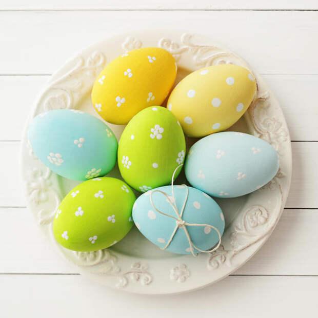 3 способа покрасить пасхальные яйца